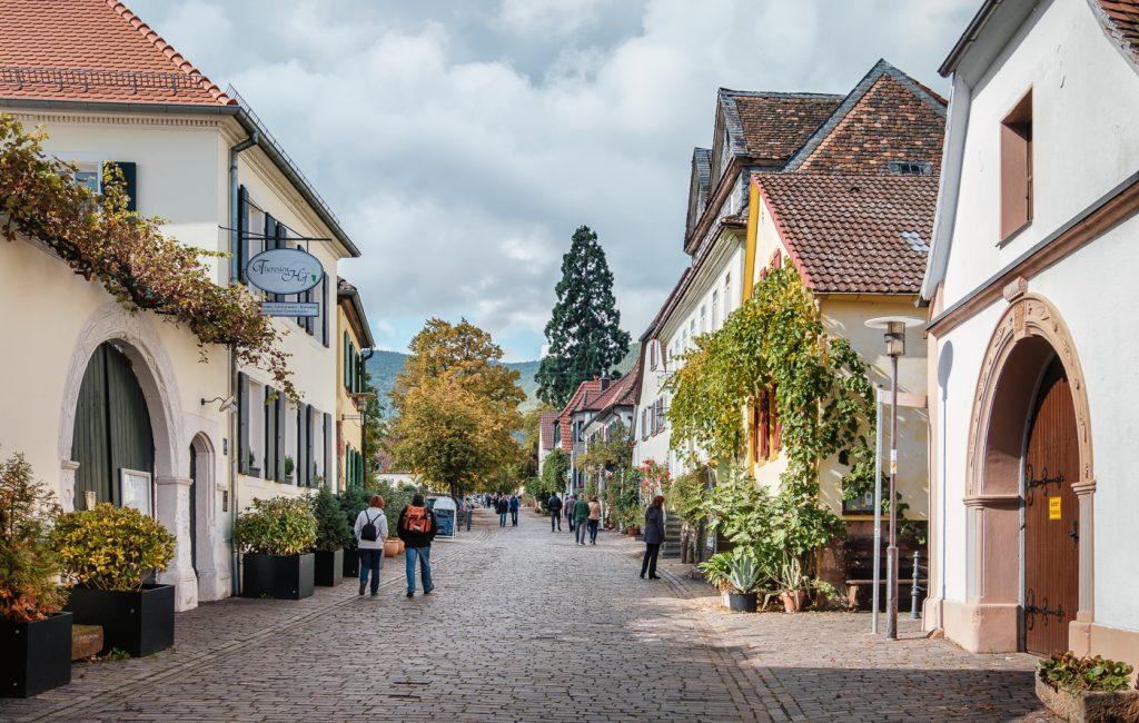 Kastanienfest bei der Villa Ludwigshöhe