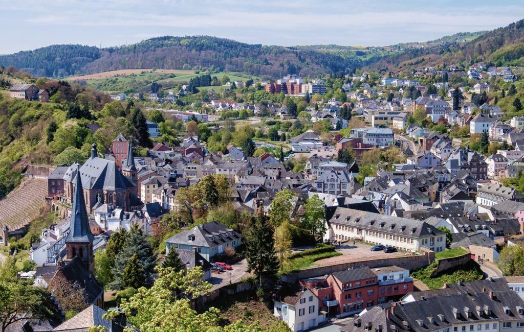 Ausflug nach Saarburg