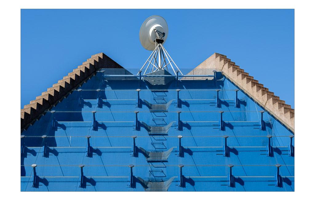 Architektur-Details rund um das Mannheimer Planetarium