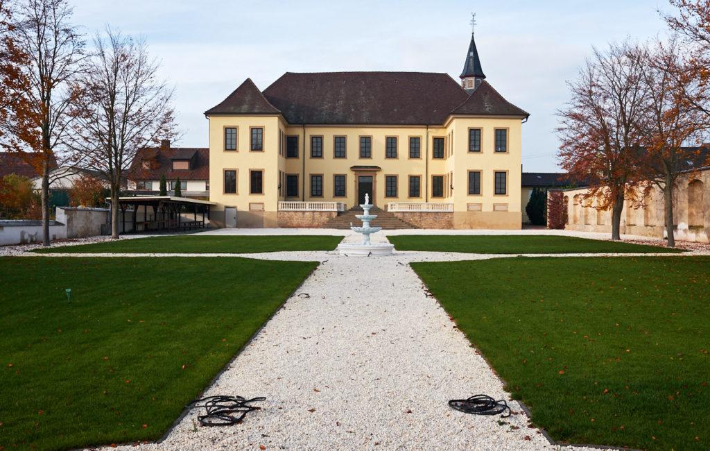 Schlossgarten Fußgönheim und Umgebung