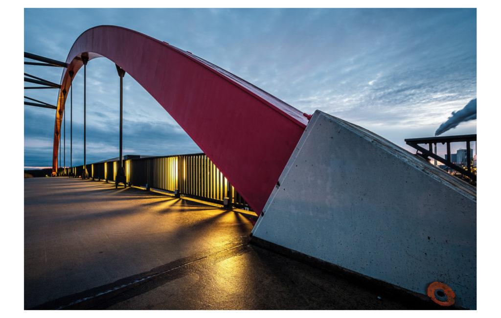 Abendliche Fototour zum Großkraftwerk Mannheim