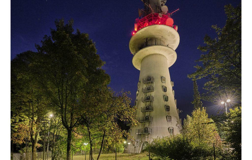 SWR Fernsehturm auf dem Donnersberg