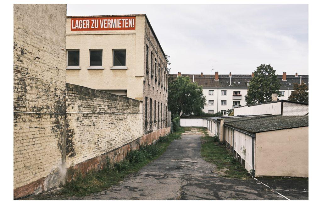 Links und rechts der Leuschnerstraße