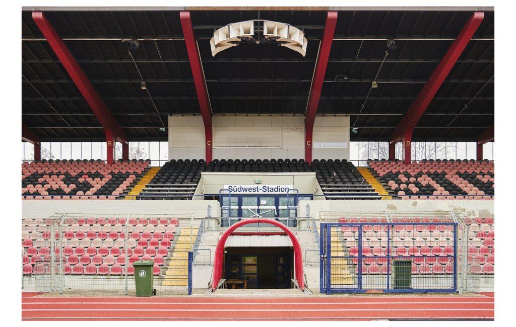 Im Ludwigshafener Südweststadion